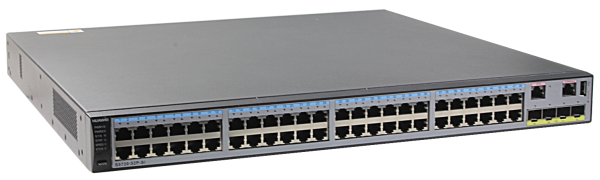 Коммутатор Huawei S5720-52P-SI-AC (48x10/100/1000BASE-T ports, 4xGE SFP ports, AC power supply)