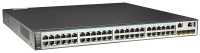 Коммутатор Huawei S5720-52X-PWR-SI-ACF (48x10/100/1000BASE-T ports, 4x10GE SFP+ ports, PoE+, 1150W AC power supply)