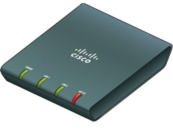 Телефонный адаптер Cisco ATA187-I1-A