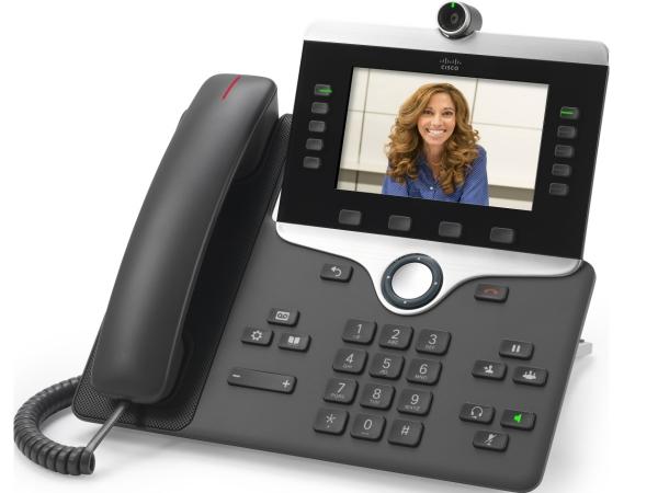 Видеотелефон Cisco IP Phone CP-8865-K9