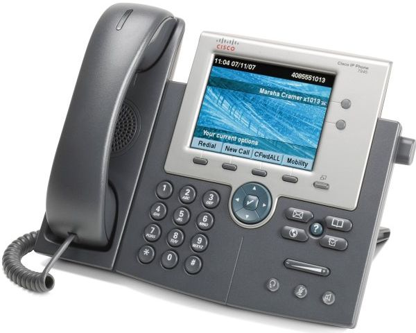 Телефон Cisco IP Phone CP-7945G