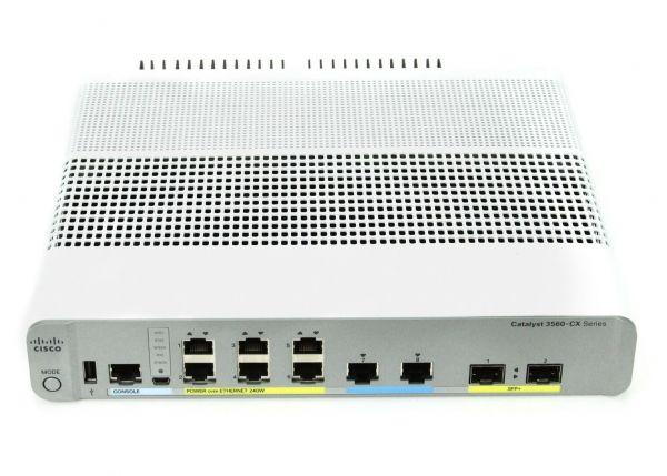 Коммутатор Cisco WS-C3560CX-8XPD-S
