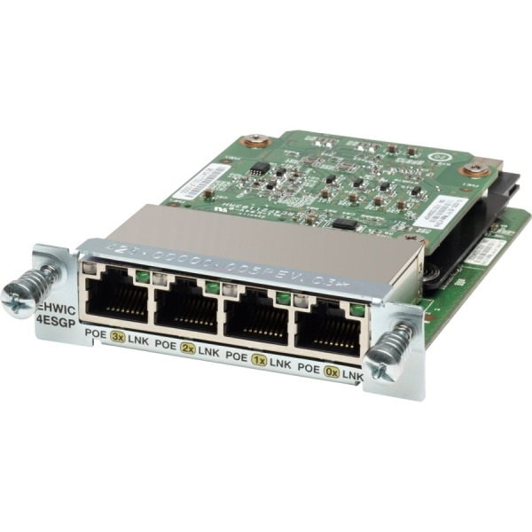 Модуль Cisco EHWIC-4ESG-P