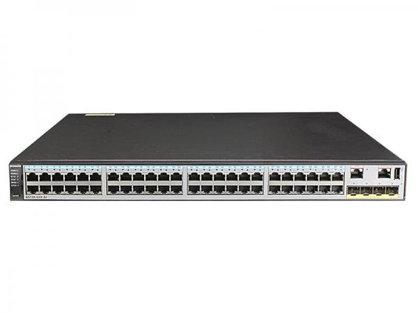 Коммутатор Huawei S5720-52X-SI-AC (48x10/100/1000BASE-T ports, 4x10GE SFP+ ports, AC power supply)
