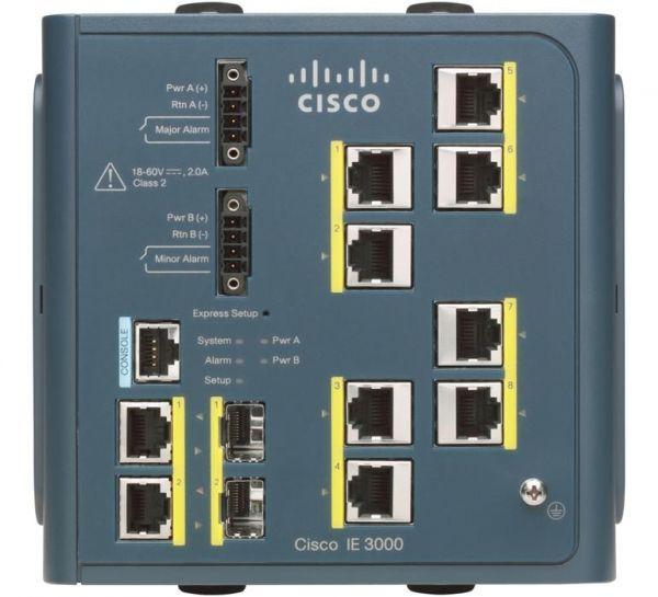 Коммутатор Cisco IE-3000-8TC-E
