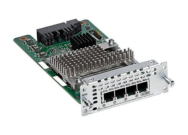 Модуль Cisco NIM-4FXS