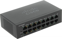 Коммутатор Cisco SF110D-16HP-EU