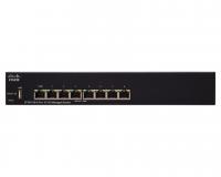 Коммутатор Cisco SF350-08-K9-EU