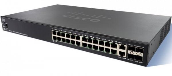 Коммутатор Cisco SF550X-24-K9-EU