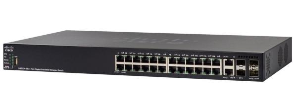 Коммутатор Cisco SF550X-24MP-K9-EU