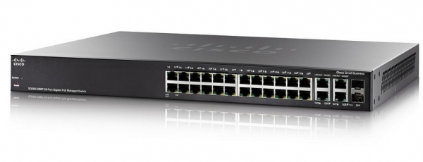 Коммутатор Cisco SB SG300-28MP-K9-EU