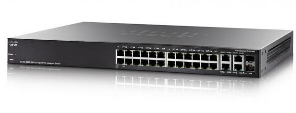 Коммутатор Cisco SB SG500X-24P-K9-G5