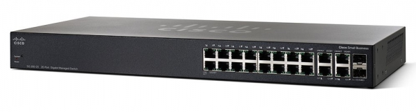 Коммутатор Cisco SG350-20-K9-EU