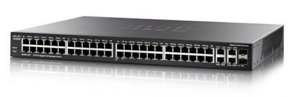 Коммутатор Cisco SG350-52P-K9-EU