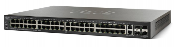 Коммутатор Cisco SG500-52P-K9-G5