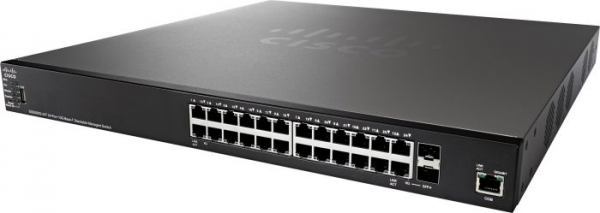 Коммутатор Cisco SG550XG-24T-K9-EU
