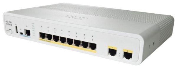 Коммутатор Cisco WS-C2960CG-8TC-L (8 портов)