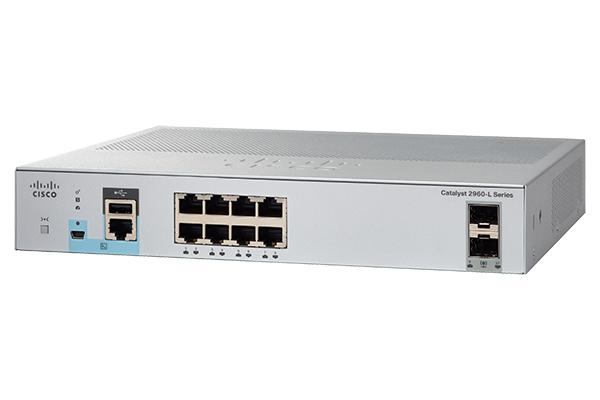 Коммутатор Cisco WS-C2960L-8TS-LL
