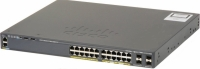 Коммутатор Cisco WS-C2960RX-24PS-L (24 порта, с PoE)