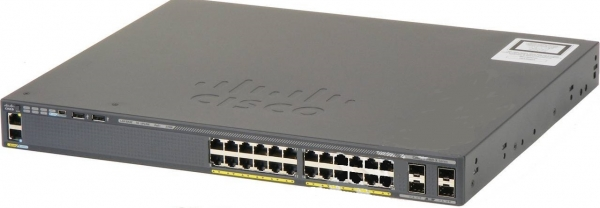 Коммутатор Cisco WS-C2960X-24PS-L