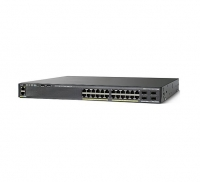 Коммутатор Cisco WS-C2960X-24TS-LL (24 порта)