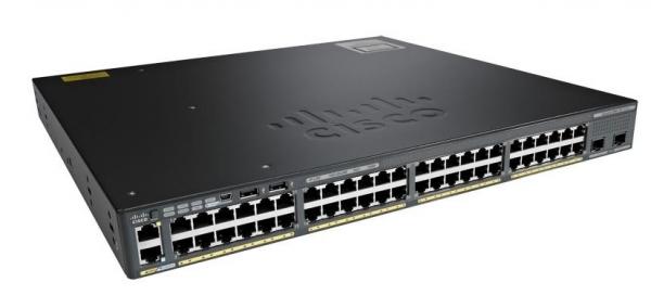 Коммутатор Cisco WS-C2960XR-48TD-I (48 портов)