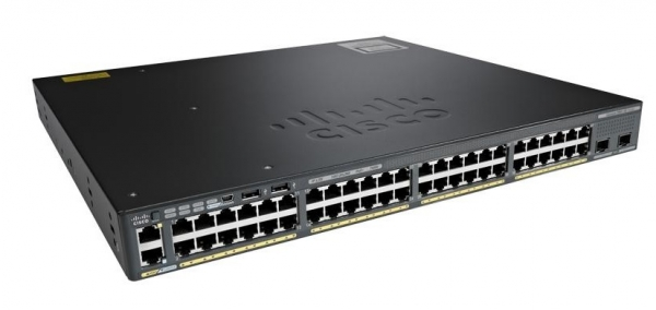 Коммутатор Cisco WS-C2960XR-48LPD-I (48 портов)