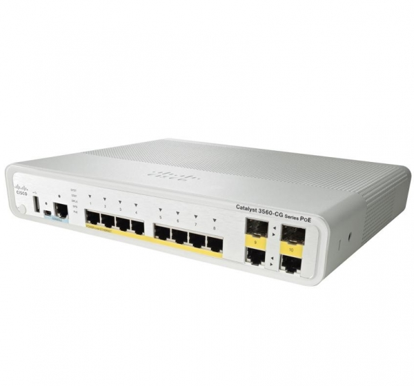 Cisco WS-C3560CG-8PC-S
