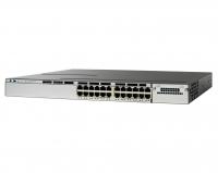 Коммутатор Cisco WS-C3750X-24T-S (24 порта)