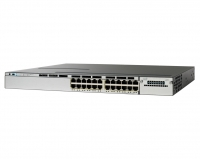 Коммутатор Cisco WS-C3750X-24P-S (24 порта, PoE)