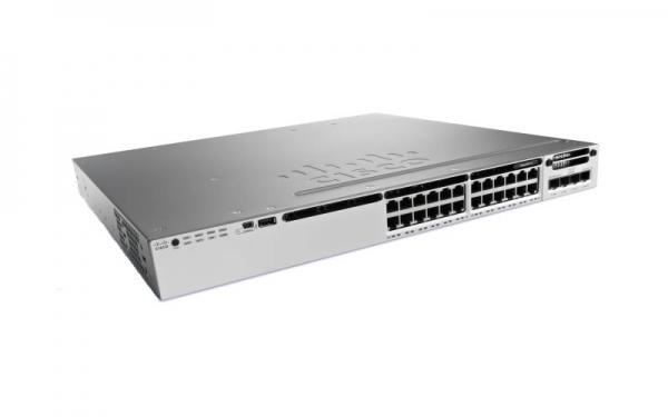 Коммутатор Cisco Catalyst WS-C3850-24PW-S (24 порта, с PoE)