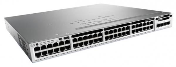 Коммутатор Cisco WS-C3850-48F-L (48 портов)