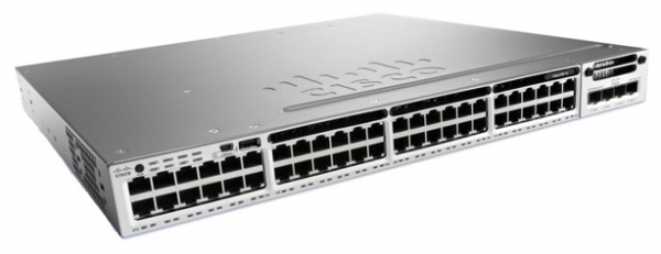 Коммутатор Cisco WS-C3850R-48P-L (48 портов, PoE)