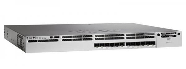 Коммутатор Cisco WS-C3850-12S-S (12 портов)