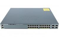 Коммутатор Cisco WS-C2960XR-24PS-I (24 порта, с PoE)