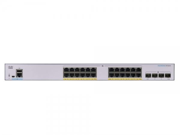 Коммутатор Cisco SB CBS350-24P-4X-EU
