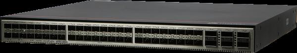 Коммутатор Huawei S6730-H48X6C (48x10GE SFP+ ports, 6x40GE/100GE QSFP28 ports, with license, without power module)