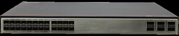 Коммутатор Huawei S6730-H24X6C (24x10GE SFP+ ports, 6x40GE/100GE QSFP28 ports, with license, without power module)